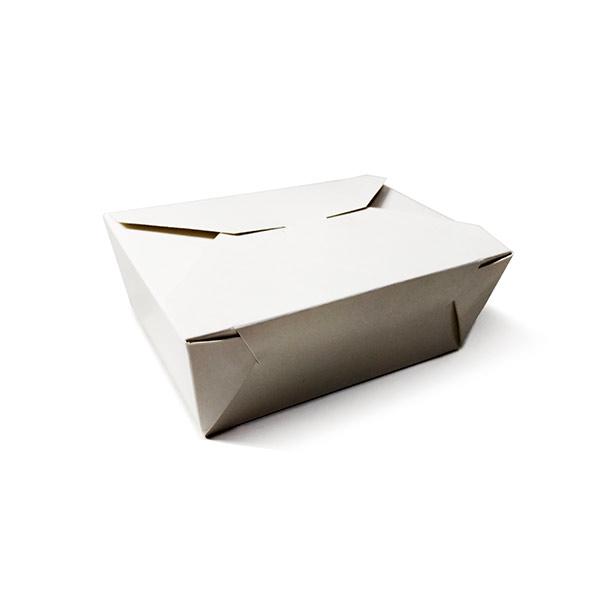 Фото товара Ланч бокс бумажный 130x90x55 мм Hasp (белый)