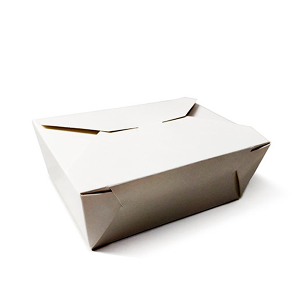 Фото товара Ланч бокс бумажный 180x130x50 мм Hasp (белый)