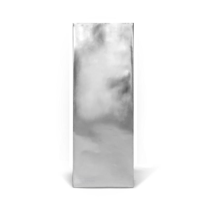 Фото товара Пакет + центральный шов, серебро, 320х90х30 (500 г)