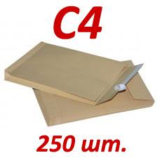 Фото товара Почтовый и курьерский пакет С4 (упаковка 250 шт.)