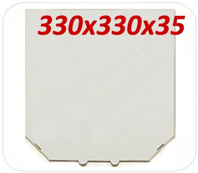 Фото товара Коробка для пиццы 330х330х35 мм