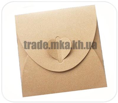 Фото товара Подарочный конверт 130х130 мм