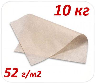 Фото товара Подпергамент пищевой пачка 10 кг 52 г/м2 (420х600мм, 420х300мм)