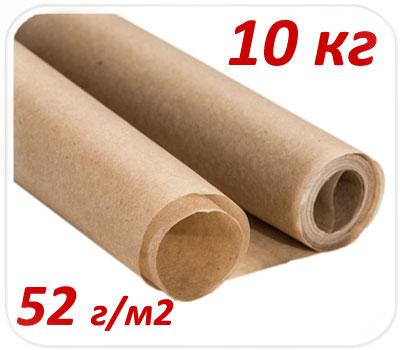 Фото товара Подпергамент пищевой в рулоне 10 кг 52 г/м2