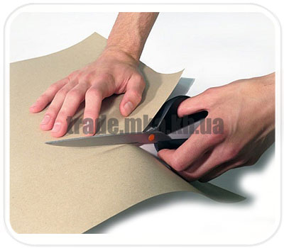 Фото товара Бурая крафт бумага нестандартного размера