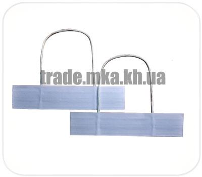 Фото товара Бумажные ручки для пакетов трехслойные (Белые)