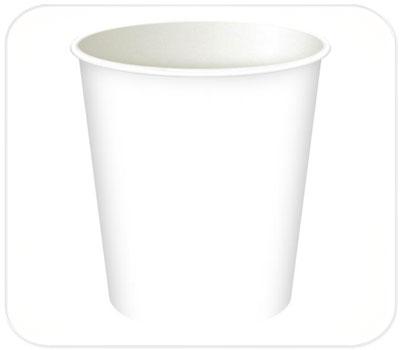 Фото товара Одноразовый бумажный стакан 180 мл (000E0)