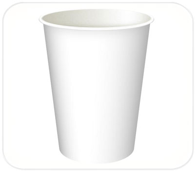 Фото товара Одноразовый бумажный стакан 250 мл (000D0)