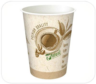 Фото товара Одноразовый бумажный стакан 250 мл (000DT10)