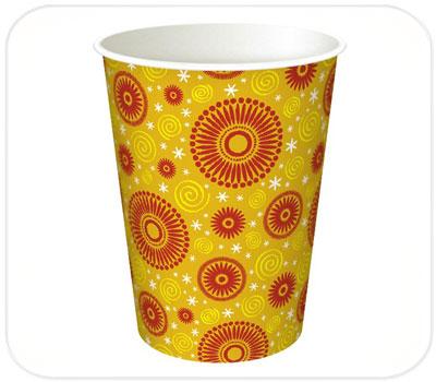 Фото товара Одноразовый бумажный стакан 250 мл (000DT14)