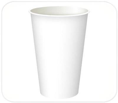 Фото товара Одноразовый бумажный стакан 340 мл (000J0)