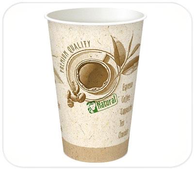 Фото товара Одноразовый бумажный стакан 340 мл (000JT10)