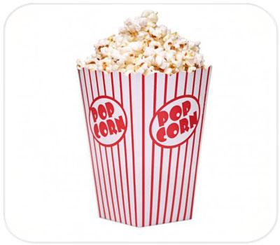 Фото товара Картонный стакан для попкорна 2л