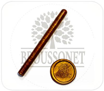 Фото товара Сургуч в стержнях. Цвет бронза.