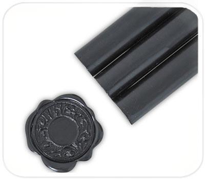 Фото товара Сургуч в стержнях. Цвет черный графит