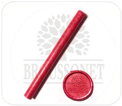 Фото товара Сургуч в стержнях. Красный цвет.