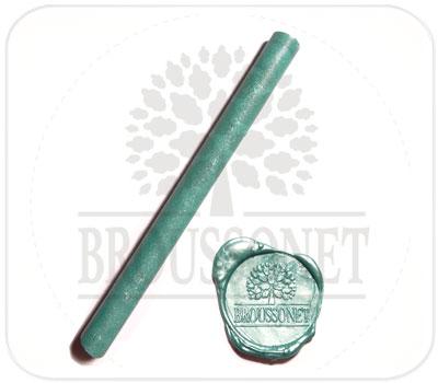 Фото товара Сургуч в стержнях зеленого цвета