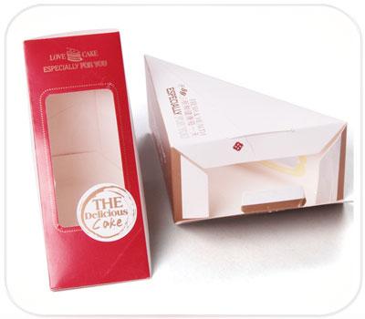 Фото товара Упаковка треугольная для сэндвича