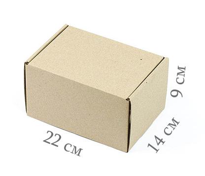 Фото товара Коробка микрогофрокартон 22х14х9 см